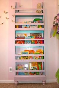 Ana White | Girly Flat Wall Bookshelf - DIY Projects