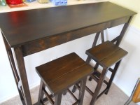 Ana White | Pub Table and stools - DIY Projects