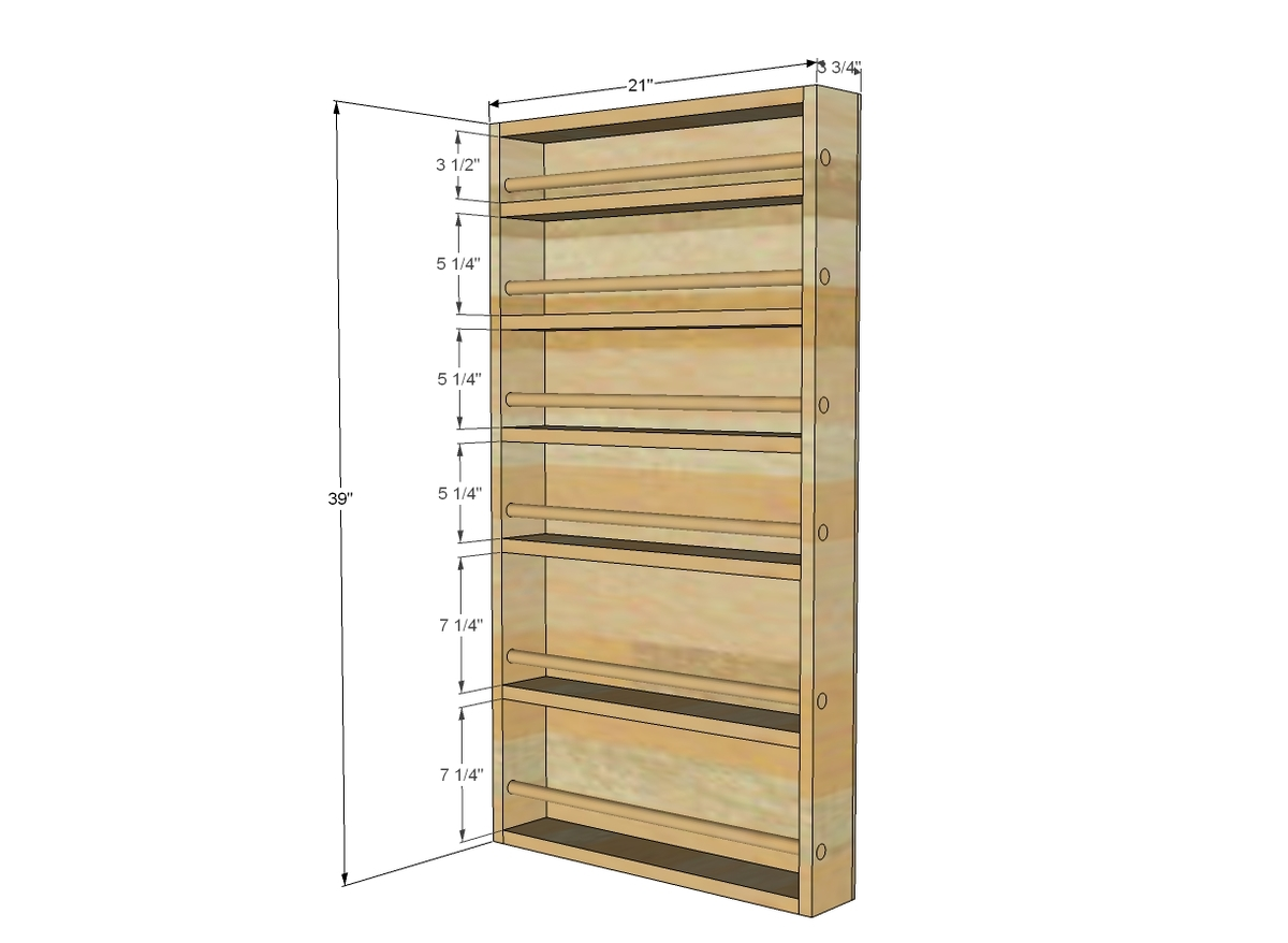 Wall Spice Racks For Kitchen - Lovequilts