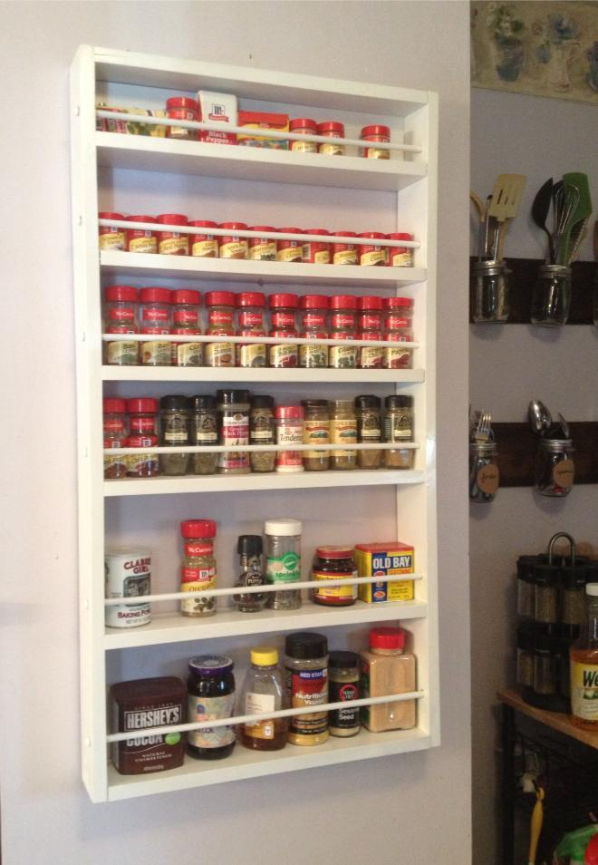 Ana White Spice Rack Diy Projects
