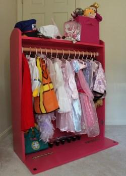 Small Of Dress Up Storage
