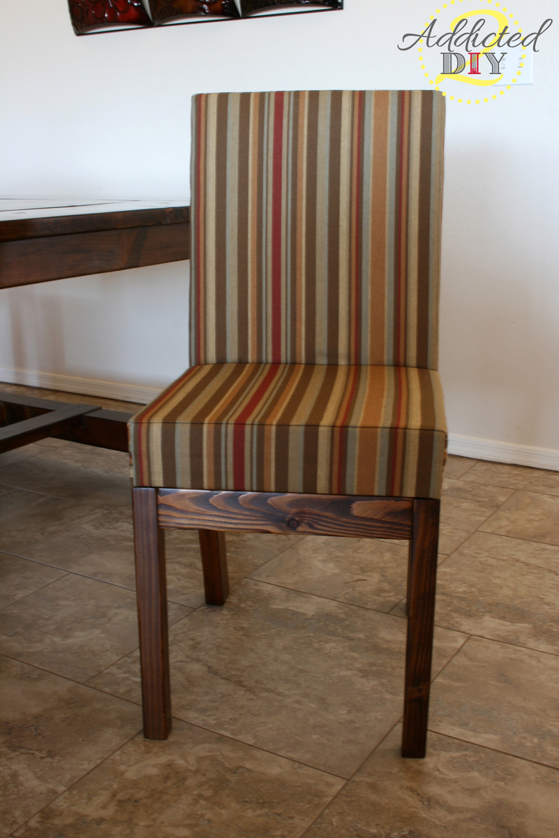 Ana White Diy Upholstered Dining Chairs Diy Projects