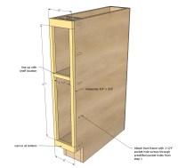 8 Inch Wide Kitchen Cabinet - Kitchen Design Ideas