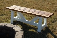 Ana White   Fire Pit Benches - DIY Projects