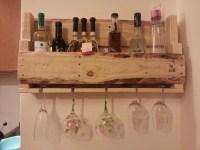 Wine Rack Glass Holder Diy