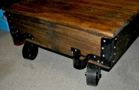 Ana White   DIY Factory cart coffee table - DIY Projects