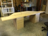 Ana White   Bay Window Standalone Desk - DIY Projects