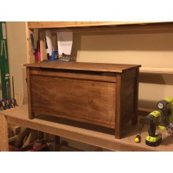 Small Crop Of Wood Toy Box