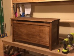 Small Of Wood Toy Box