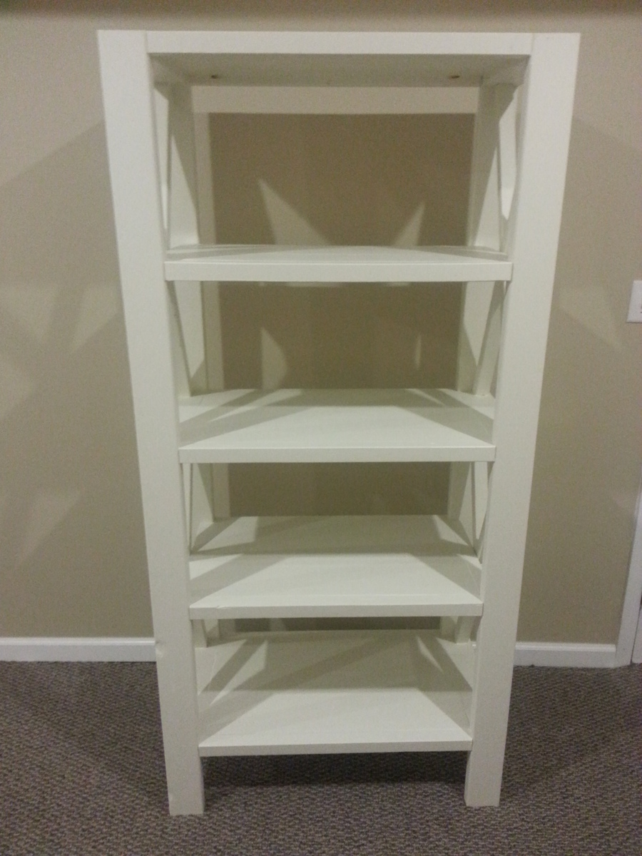 Ana White X Bookcase Diy Projects