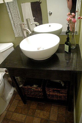 Ana White | Simple Open Farmhouse Style Vanity - Diy Projects