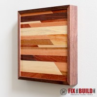 Ana White | Modern Wooden Wall Art - DIY Projects