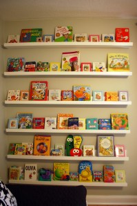 Ana White | Nursery Room Book Shelves from $10 Ledge Plan ...
