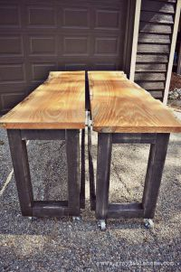 Ana White | DIY Convertible Bar / Pub Table - DIY Projects