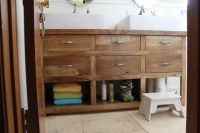 Ana White | dresser turned bathroom vanity - DIY Projects