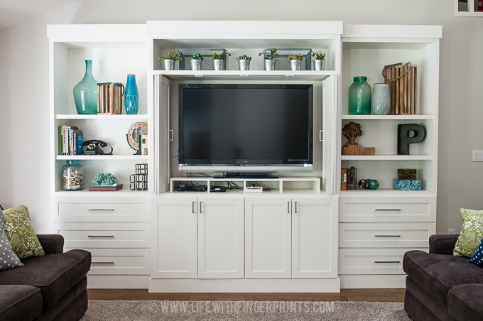 Ana White Diy Entertainment Center Diy Projects