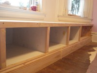 Ana White | Window seat built in - DIY Projects