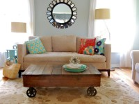 Ana White | Factory Cart Coffee Table - DIY Projects