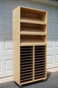 Ana White   Craft Paper/Punch Storage Cabinet - DIY Projects