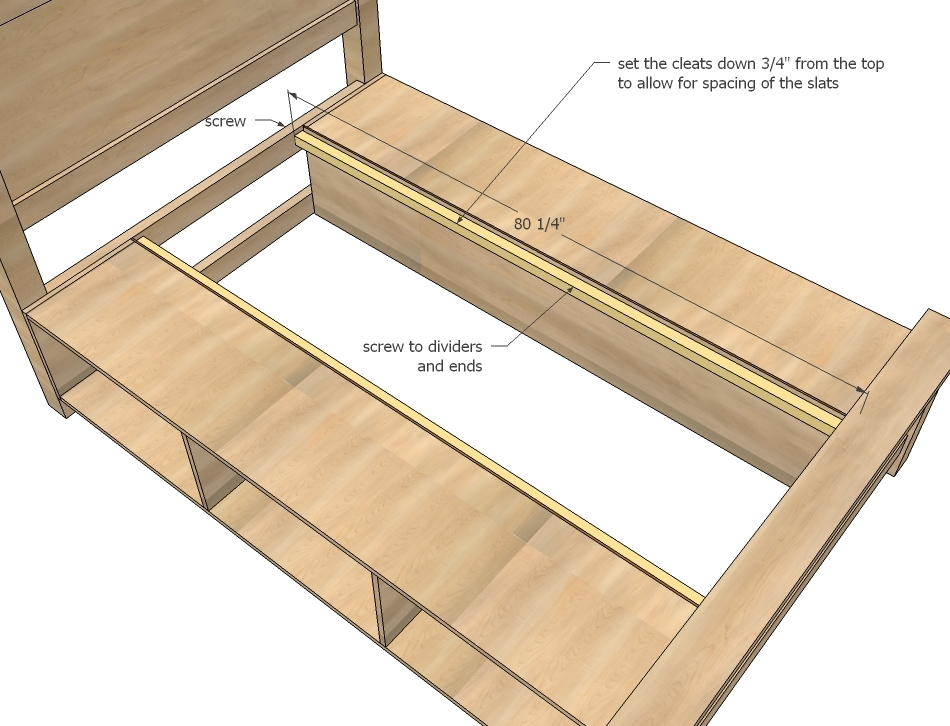Build A Bed Frame With Storage - Listitdallas