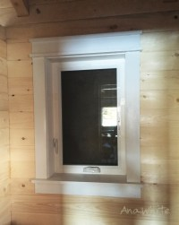 Ana White | Farmhouse Style Window Trim from Pine Boards ...