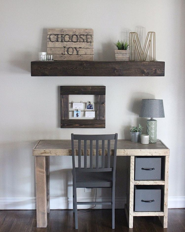 Ana White DIY Home Office Desk - Featuring Hardy Home Reno - DIY