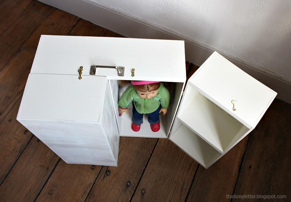 Ana White Doll Closet Folding 18 Inch Doll Furniture