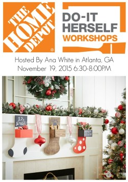 Dainty Home Depot Dihworkshop Ana Holiday November 2015 Home Depot Dihworkshop Wood Stocking Ana Home Depot Ponce Pr Telefono Home Depot Ponceuse