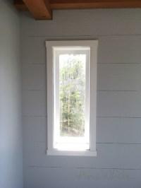 Simple Shaker Window Trim | Knock-Off Wood | Bloglovin