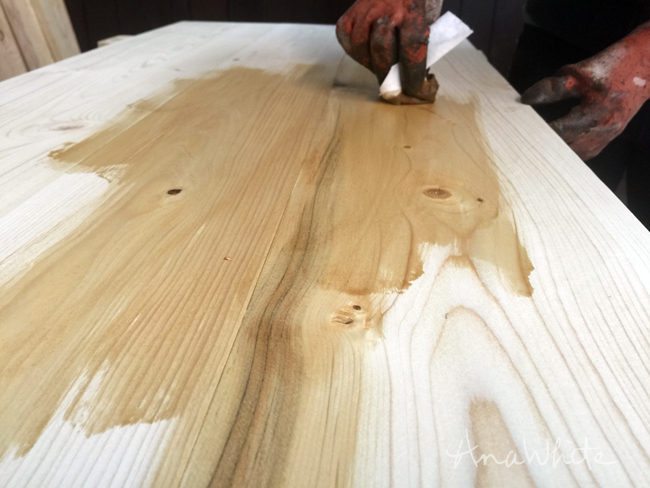 Ultimate Wood Staining Guide | Ana White Woodworking Projects