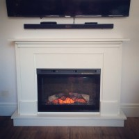 Ana White | electric fireplace surround and mantel - DIY ...