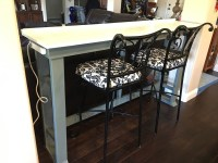 Ana White | Behind sofa table/bar/work desk - DIY Projects