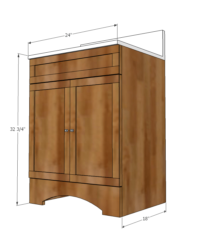 Ana White | Builder Grade Vanity - Diy Projects