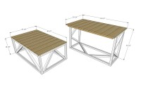 Ana White | Coffee Table Converts to Dining Table from ...
