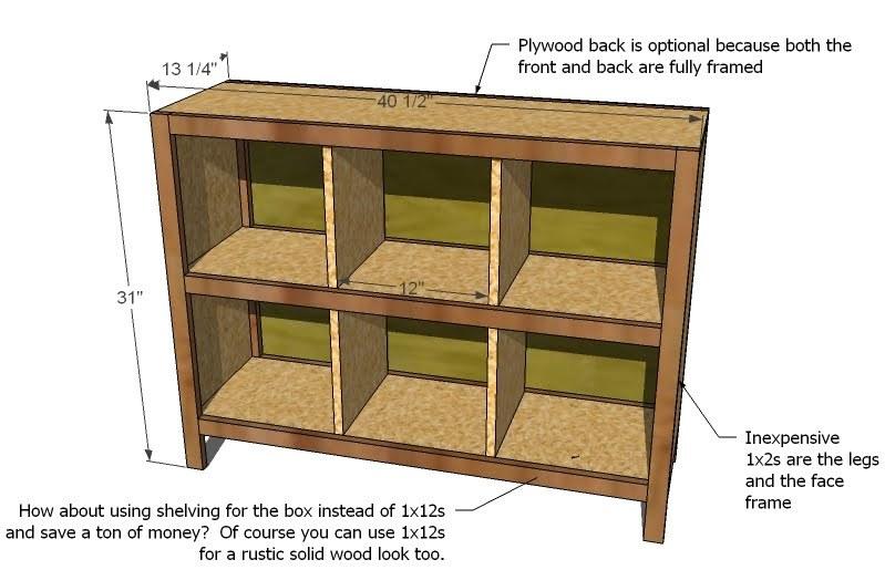 Diy Storage Cube Shelves