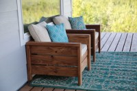 Ana White | Modern Outdoor Chair from 2x4s and 2x6s - DIY ...
