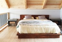 Rustic Modern 2x6 Platform Bed   Ana White   Bloglovin
