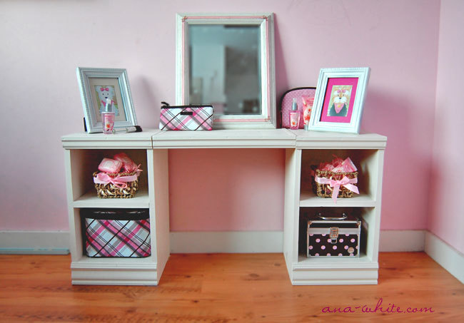 Ana White | Play Vanity - Diy Projects