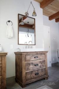 Ana White | Rustic Bathroom Vanities - DIY Projects