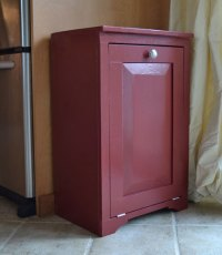 Ana White | Wood Tilt Out Trash or Recycling Cabinet - DIY ...