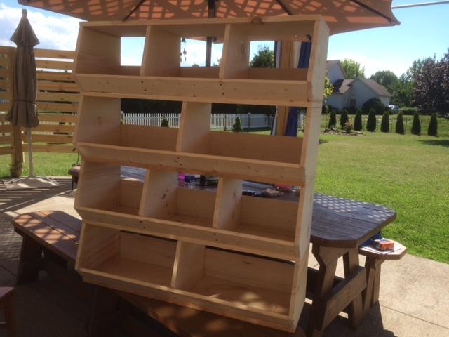 1x12 Wood Bulk Bins Diy Projects T