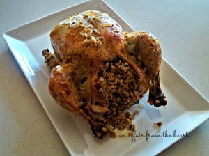 Easy Baked Chicken and Wild Rice