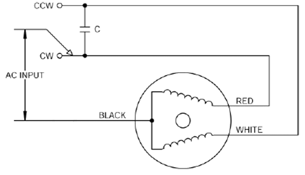 induction motor dimensions wiring diagram