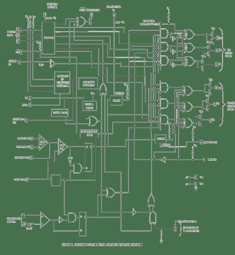 brushless dc motor driver block diagram