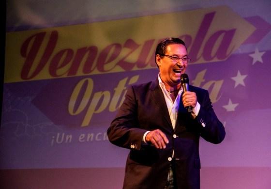 Pedro Penzini sacó sonrisas a los asistentes a #VenezuelaOptimista