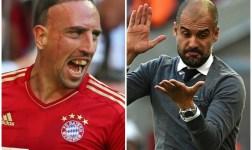 Los mensajes de amor-odio entre Guardiola y Ribéry