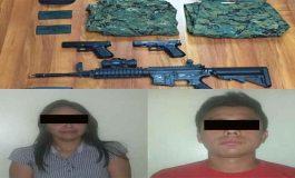 Capturan a dos personas con armas largas y uniformes militares en Carabobo