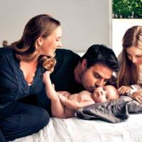 ¡Crece la familia! Nació el segundo hijo de Luis Chataing (Fotos)