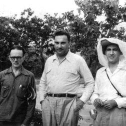 Jacinto Convit en la Leprosería de Cabo Blanco