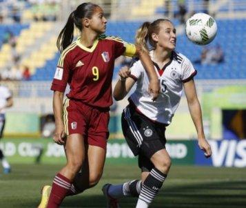 La Vinotinto femenina Sub 17 no pudo en su debut ante Alemania
